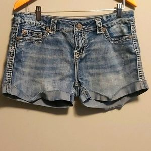 Warehouse one denim shorts